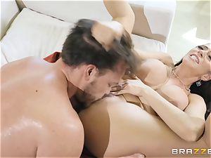 Ariella Ferrera taking it rock-hard in her pussyhole