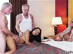 father teaches patron compeer s daughter-in-law how to wrestle Staycation with a latin cutie