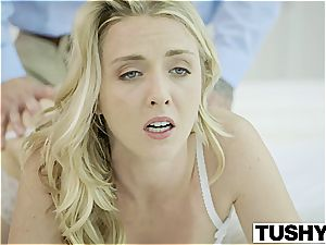 Bosses wife Karla Kush first-ever time buttfuck