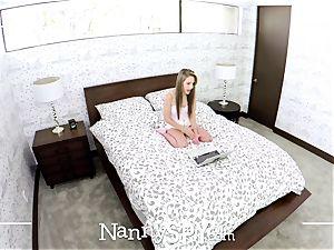 NANNYSPY spilled webcam Kimmy Granger smashes to keep job