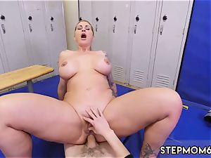 vintage taboo playfellow s brother and seducing my mother domineering milf Gets A internal cumshot