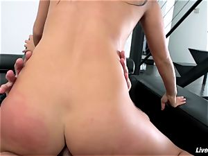 LiveGonzo Asa Akira flawless asian ass fucking fuckfest