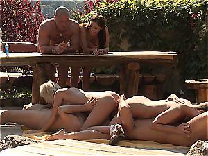 Outdoor intercourse fun and porn games gig three