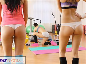 sport rooms two wild gals 3some