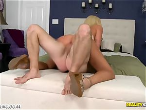 discreet dude pounds his sizzling promiscuous neighbor Summer Brielle