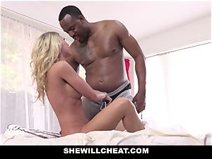 SheWillCheat - wifey vengeance screws big black cock