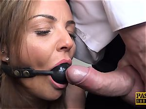 big-titted milf Sienna Hudson gets her vagina hammered hard