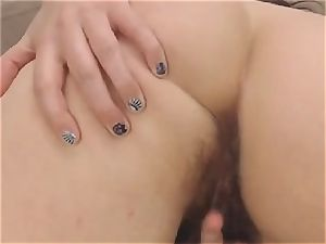 Nerdy adorable boobs stunner Self poke on web cam