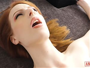 big black cock submerges its way into the brown-eye of ginger Alex Harper