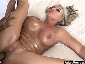 AdultMemberZone - humungous boobed mummy craves black stiffy