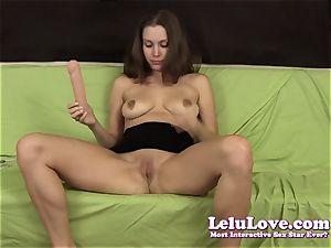 Lelu Love-Steven bday orgasm faux-cock hitachi