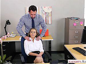 youthfull secretary gets the job done