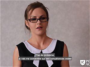pornography ACADEMIE - british Tina Kay red-hot anal in threeway