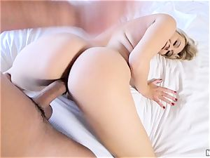 bone longing Natalia Starr tongues up rod