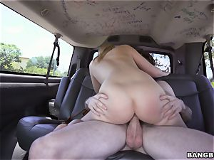 Bailey Brooke boinked on the Bangbus