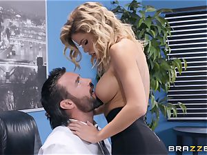 Jessa Rhodes feasting on a gigantic fuck-stick