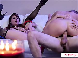 Ryan and Raquel gets penetrated stiff like 2 tiny breezies