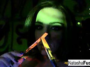 Natasha ultra-cute And Raylene Working Side By Side