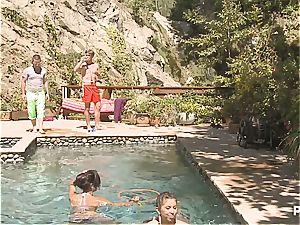 mischievous poolside joy part 2