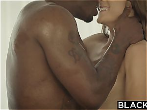 very first interracial for kinky Ally Tate