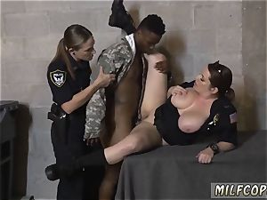ebony aggressive faux-cock machine first time fake Soldier Gets Used as a smash toy