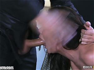 killer mature tramp Nicole Aniston with immense udders gets buttfucked and splooging