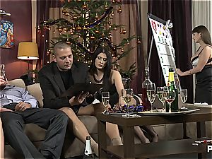 The lovemaking Game before Christmas sequence 1