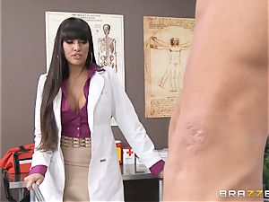 doc Mercedes Carrera works wonders with her titties