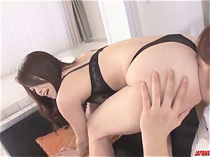 Premium Japan gonzo adult fun with gorgeous Maki Hojo