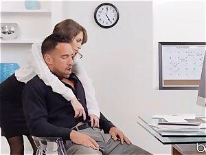 Kimmer Granger sits on Johnnys schlong