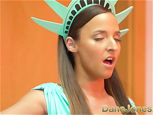 Dane Jones Amirah Adara Statue of Liberty costume play