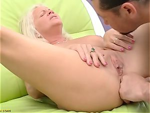 splendid 73 years senior mummy first-ever immense lollipop buttfuck pummel