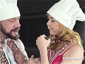Private.com - teen Anny Aurora Gets spunk on Salad