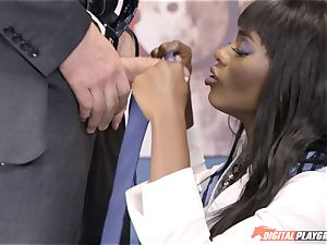 mind-blowing Ana Foxx has red-hot sizzling bang-out with Charles Dera