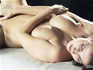 gorgeous Connie Carter bare getting off