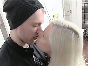 AgedLovE big-chested Lacey Starr hard-core and dt