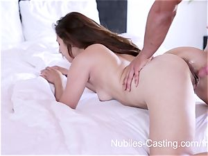 Nubiles audition - hard-core porno audition for beginner
