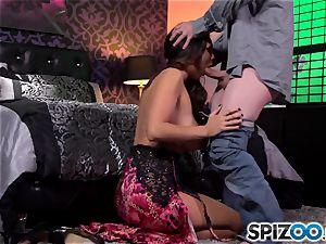 Spizoo-Watch Alison Tyler fucking a hefty lollipop yam-sized tits