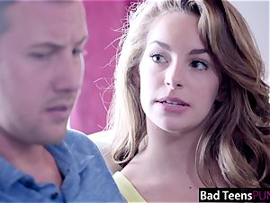 super-naughty babysitter Kimmy Granger Creampied By manager