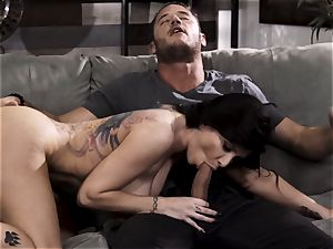 A tiny too late part four - buxom Romi Rain