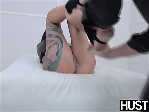 punk milf Lola luscious poon banged with spunk-pump and playthings