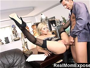 RealMomExposed Caught with finger in fuckbox