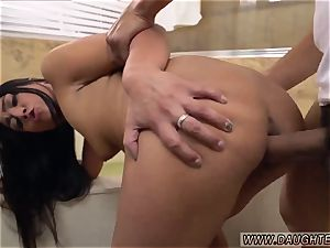 heterosexual playfellow dt Lexy Bandera get s her pipes cleaned by a massive lollipop