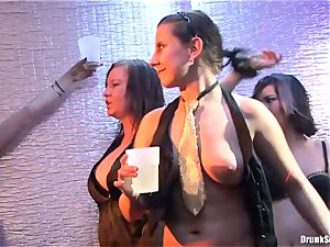 Bibi Fox, Tarra milky and Carla Cox super-naughty and nasty