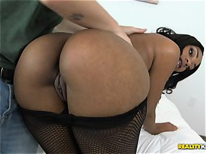 phat black mind-blowing backside Nova starlet