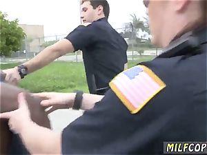 milf tricked by masseuse ebony suspect taken on a harsh rail