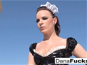 Dana the maid in a molten sex