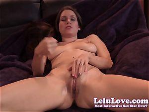 Lelu Love-Virtual eat jizz On twat