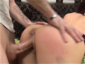 La Cochonne - Mature French amateur enjoys butt fisting