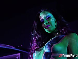 Guardians of the green snatch with Cassidy Klein